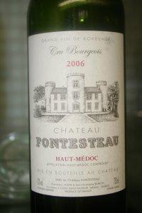 Foto Chateau Fontesteau Haut Medoc AC