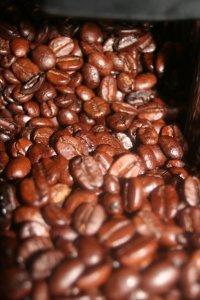Foto Viele Kaffeebohnen